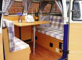 Classic VW Campervan for wedding hire in Windsor